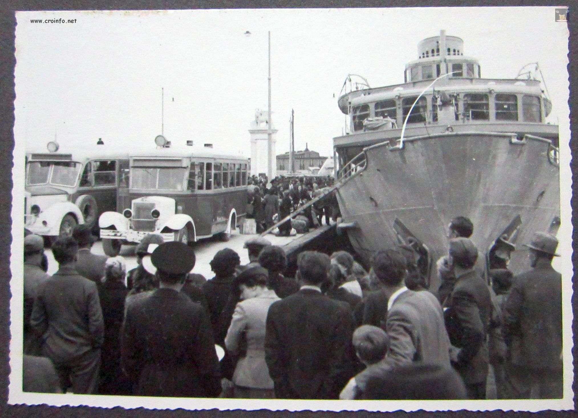 laurana 11.04.1941. mletački lav frecia fiume rijeka luka