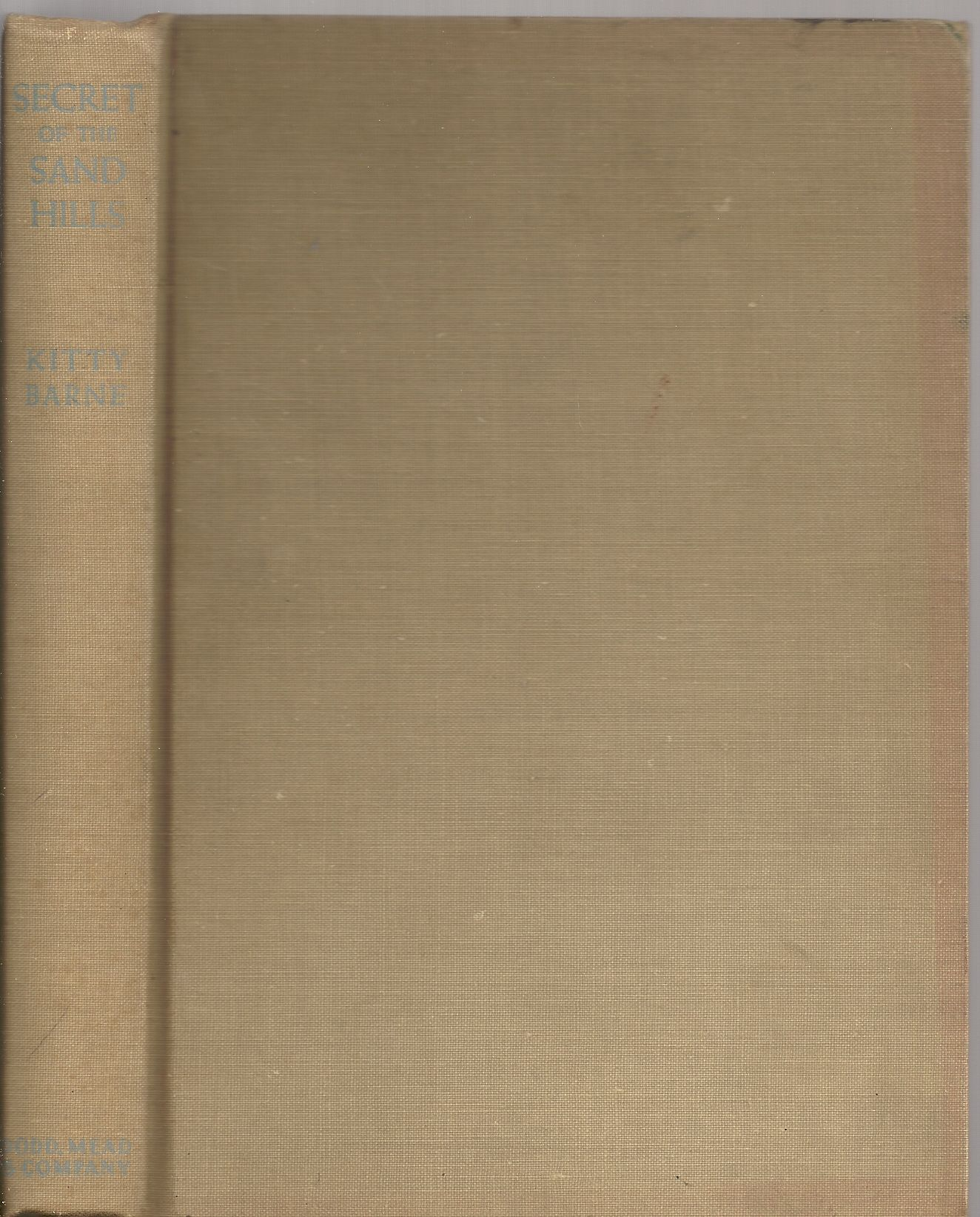 Secret of the sand hills (Junior Red badge mysteries), Barne, Kitty