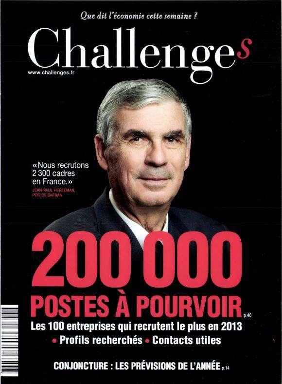 Challenges N°327 du 10 au 16 Janvier 2013