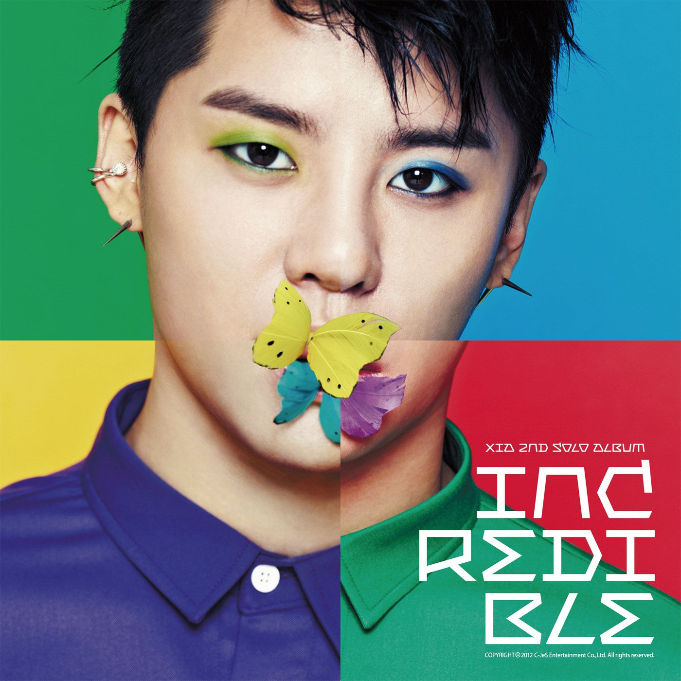 [Album] XIA (Junsu)   Incredible [VOL. 2]