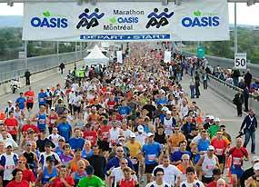 Oasis Marathon & � Marathon de Montr�al  Montreal festival