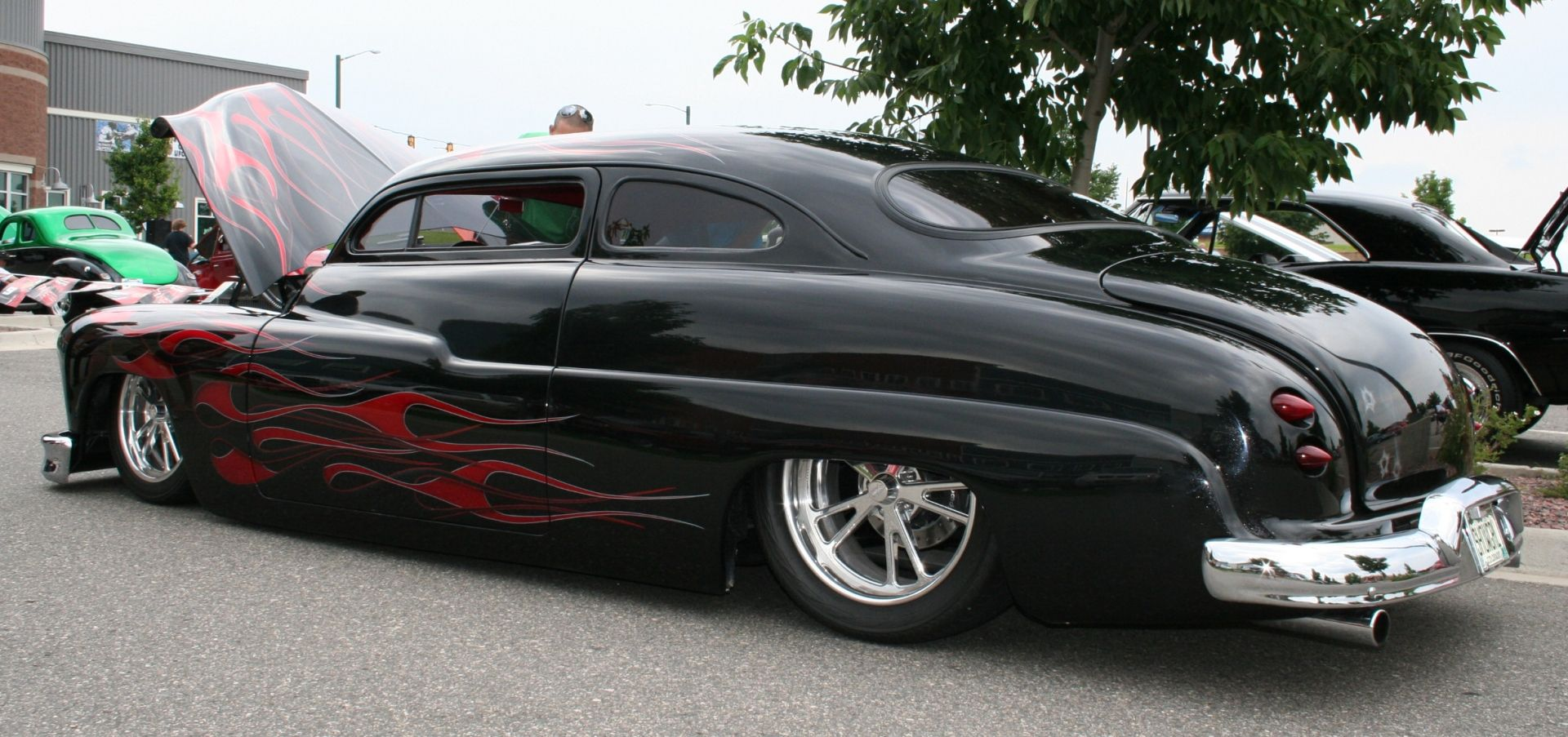 Mercury Lead Sled (black with flames) ~ Used Car Values