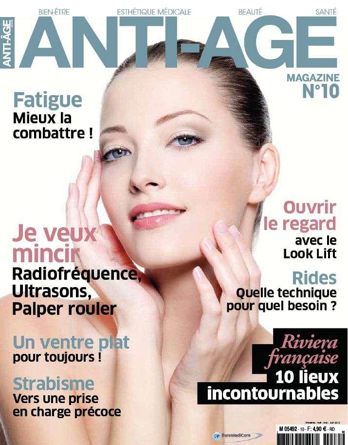 Anti Age Magazine N°10 Avril Mai Juin 2013