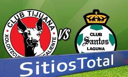 Xolos Tijuana vs Santos En Vivo
